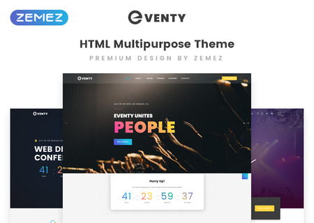 Event Multipurpose HTML