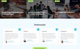 """Responzivní Šablona mikrostránek """"UpMark - Fancy Marketing Agency HTML"""""""