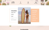 "Landing Page Template namens ""Smooth Skin - Waxing Salon HTML5"""