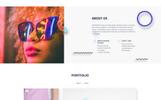 Plantilla Web para Sitio de Desarrollo web