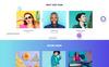 Reszponzív Lemon - Design Company Responsive HTML Weboldal sablon Nagy méretű képernyőkép
