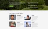 """Landing Page Template namens """"Real Grass - Garden Maintenance HTML"""""""