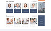Binko - Futuristic Privat Clinic HTML Landing Page Template Big Screenshot