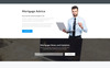 Capital - Solid Mortgage Company  HTML Landing Page Template Big Screenshot