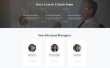Capital - Solid Mortgage Company  HTML Landing Page Template