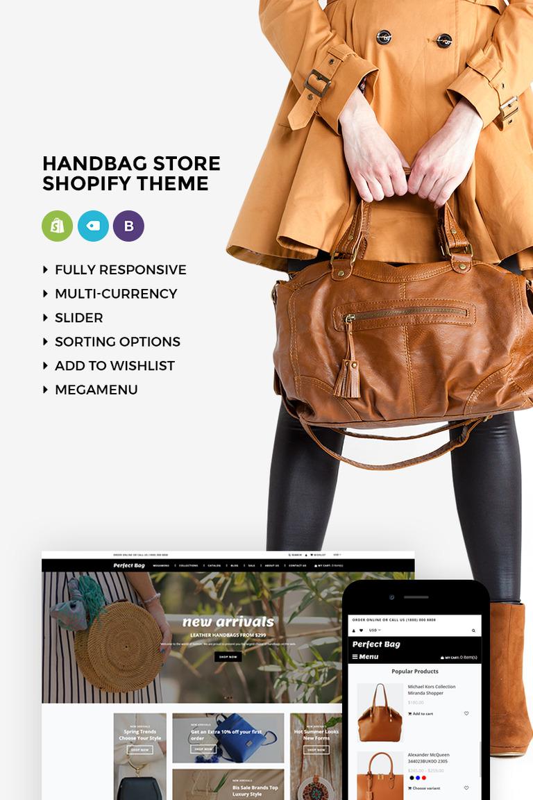 Perfect Bag - Elegant Online Handbag Store Shopify Theme