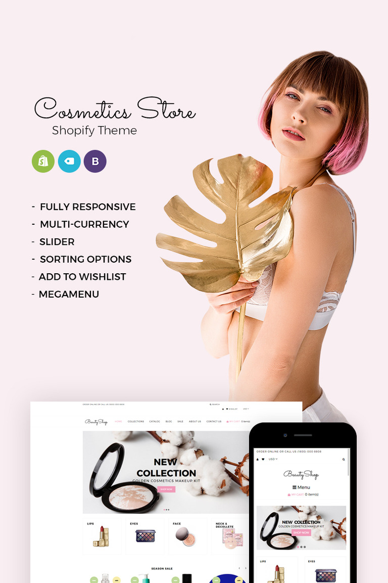 BeautyShop Responsive Shopify Theme