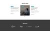 """Responzivní Šablona mikrostránek """"Evente - Web Design Conference"""" Velký screenshot"""