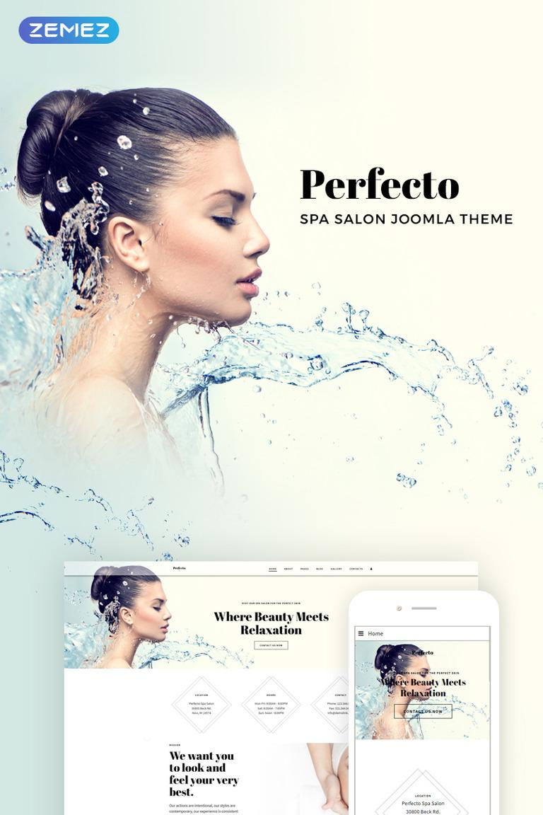 Perfecto - Spa Salon Joomla Template