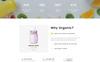 Organic Farm Multipurpose HTML Website Template Big Screenshot