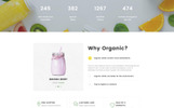 "Website Vorlage namens ""Organic Farm Multipurpose HTML"""