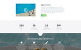 Responsywny szablon Landing Page iPool - Pool Design HTML #73885