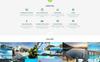 Responsywny szablon Landing Page iPool - Pool Design HTML #73885 Duży zrzut ekranu