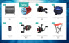 "PrestaShop Theme namens ""Grosse Prise - Fishing Gear Store"" Großer Screenshot"