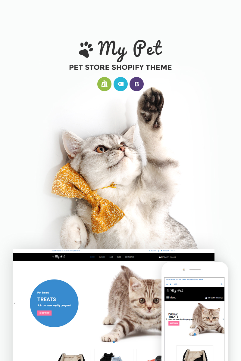 My Pet - Pet Shop Shopify Theme