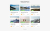 """Template Siti Web Responsive #74092 """"Sunway - Travel Agency Multipurpose HTML"""" Screenshot grande"""
