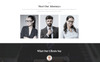 Legalor - Classy Law Company Responsive Website Template Big Screenshot