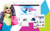 "Magento motiv ""SnowSport - Extreme Sports Gear"" Velký screenshot"