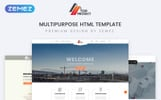 """Top Project - Construction Company Multipurpose HTML"" - адаптивний Шаблон сайту"