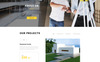 Top Project - Construction Company Multipurpose HTML Website Template Big Screenshot