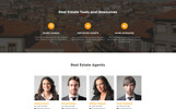 Immovables - Real Estate Ready-to-Use Template Web №74445