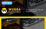 Responsivt Wubba - Home Electronics Magento-tema