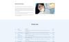 """DentaCare - Dental Clinic Ready-To-Use"" modèle web adaptatif Grande capture d'écran"
