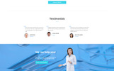 """DentaCare - Dental Clinic Ready-To-Use"" modèle web adaptatif"