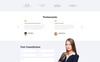 Principle - Law Ready-to-Use Template Web №74635 Screenshot Grade