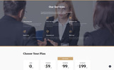 Principle - Law Ready-to-Use Template Web №74635