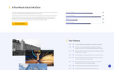 "Website Vorlage namens ""InfraDust - Industrial Ready-to-Use"""