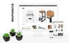 ILEA - Decor & Furniture Magento-tema En stor skärmdump