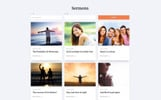 Rising Sun - Church Ready-to-Use Website Template