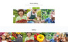 Ground - Agriculture Ready-to-Use Template Web №74778 Screenshot Grade