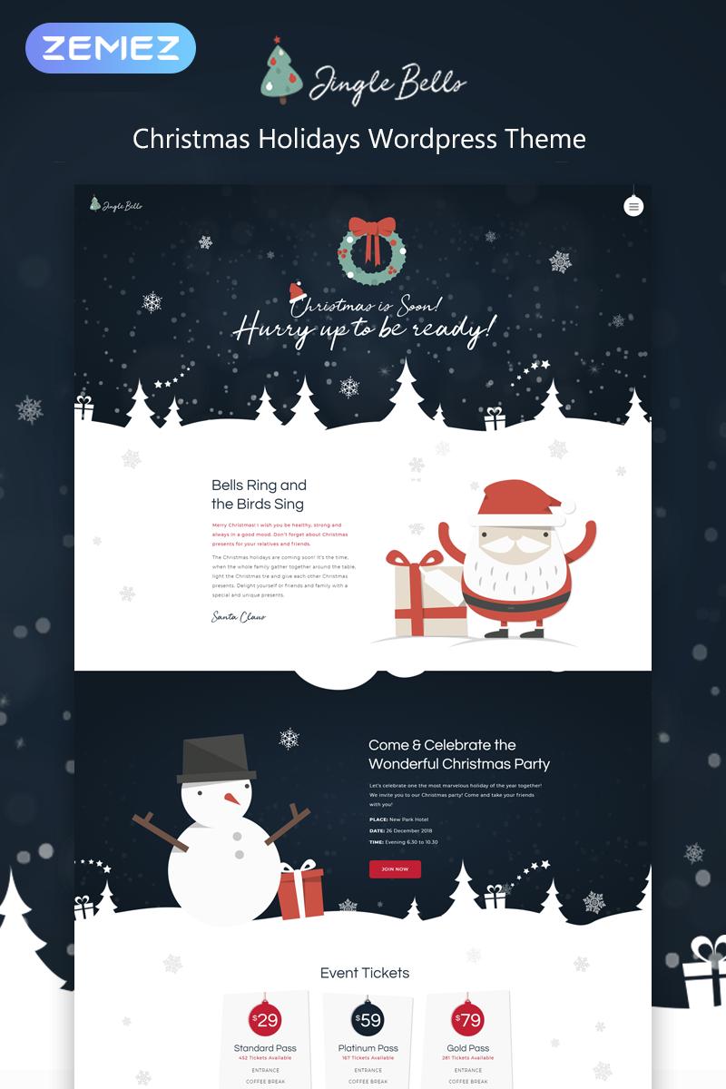 Адаптивный шаблон №74802 на тему праздники, подарки и цветы, отдых, рождество