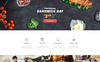 Fasteria - Restaurant Ready-to-Use Website Template Big Screenshot