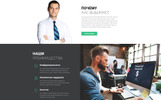 "Tema Ru Website  Responsive #75315 ""PROTaxing - Audit Ready-to-Use Clean Novi HTML"""