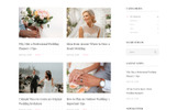 Amour - Wedding Multipage Clean Bootstrap HTML Website Template