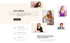 Oversize - Fashion One Page Clean Bootstrap HTML Landing Page Template Big Screenshot