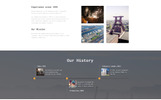 """Nordan - Industrial  Ready-to-Use Modern Novi HTML"" Responsive Website template"