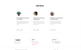 "Modello di Landing Page Responsive #75656 ""Profit - Sport One Page Minimal Bootstrap4 HTML"""