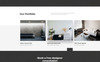 Interia - Design One Page Creative HTML Landing Page Template Big Screenshot