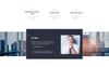 """Declar -  Law Multipage Ready-to-Use HTML"" ru Website Template adaptatif Grande capture d'écran"