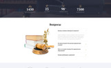 """Declar -  Law Multipage Ready-to-Use HTML"" ru Website Template adaptatif"