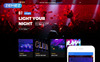 Crazy - Night Club Modern Responsive Joomla Template New Screenshots BIG