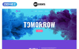 Responsywny szablon strony www SkyEvents - Event Multipage Creative Bootstrap HTML #75860