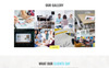 SkyEvents - Event Multipage Creative Bootstrap HTML Website Template Big Screenshot