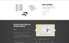 """Landing Page Template namens """"Outer Side - Photo Zones One Page Modern HTML"""" Großer Screenshot"""