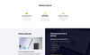 Razvitie -  Investment Ready-to-Use HTML Ru Website Template №76014 Screenshot Grade