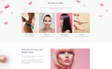 """Relish Ruelle - Beauty Multipage Clean HTML"" Responsive Website template"